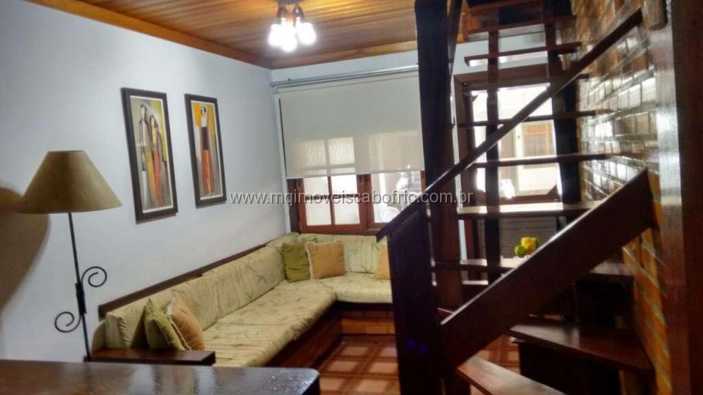 Cod: T41 – Belo Apartamento 3 quartos – Temporada – 150 metros da praia do Peró