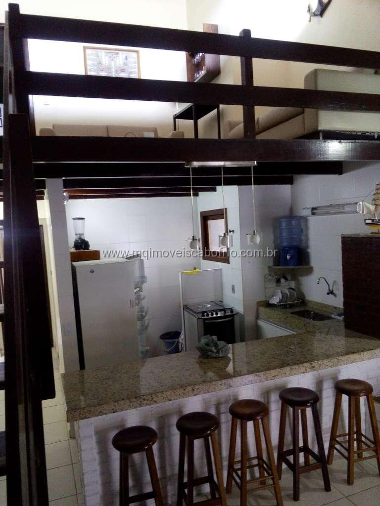 T44 – Temporada – Apto em Condomínio – 2 quartos – Praia do Peró