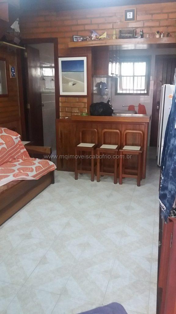 Cod:T66 – Excelente casa em condomínio c/ 2 quartos – Temporada