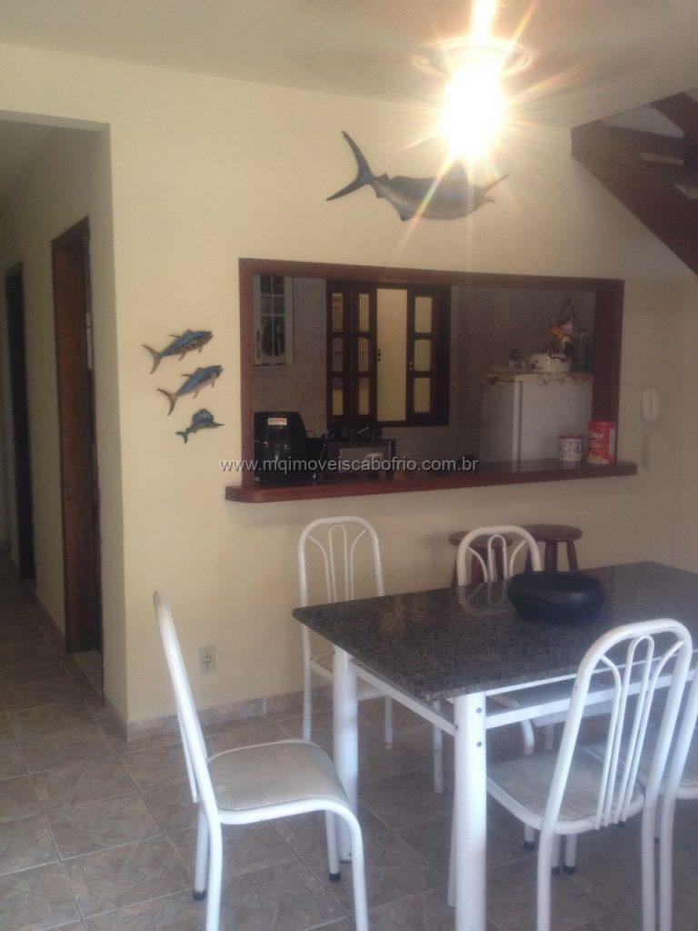 Cod:T75 – Casa em condomínio – 2 quartos c/ piscina – temporada