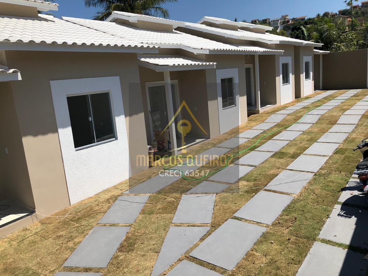 Cod:V414 – Casa em condomínio 1º locação – Guriri