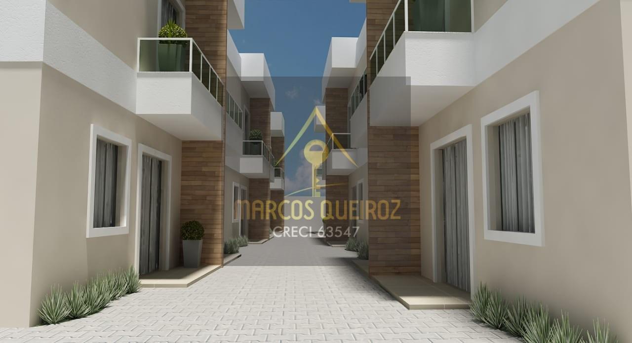 Cod: V455 Lançamento casa em condomínio de 02 quartos