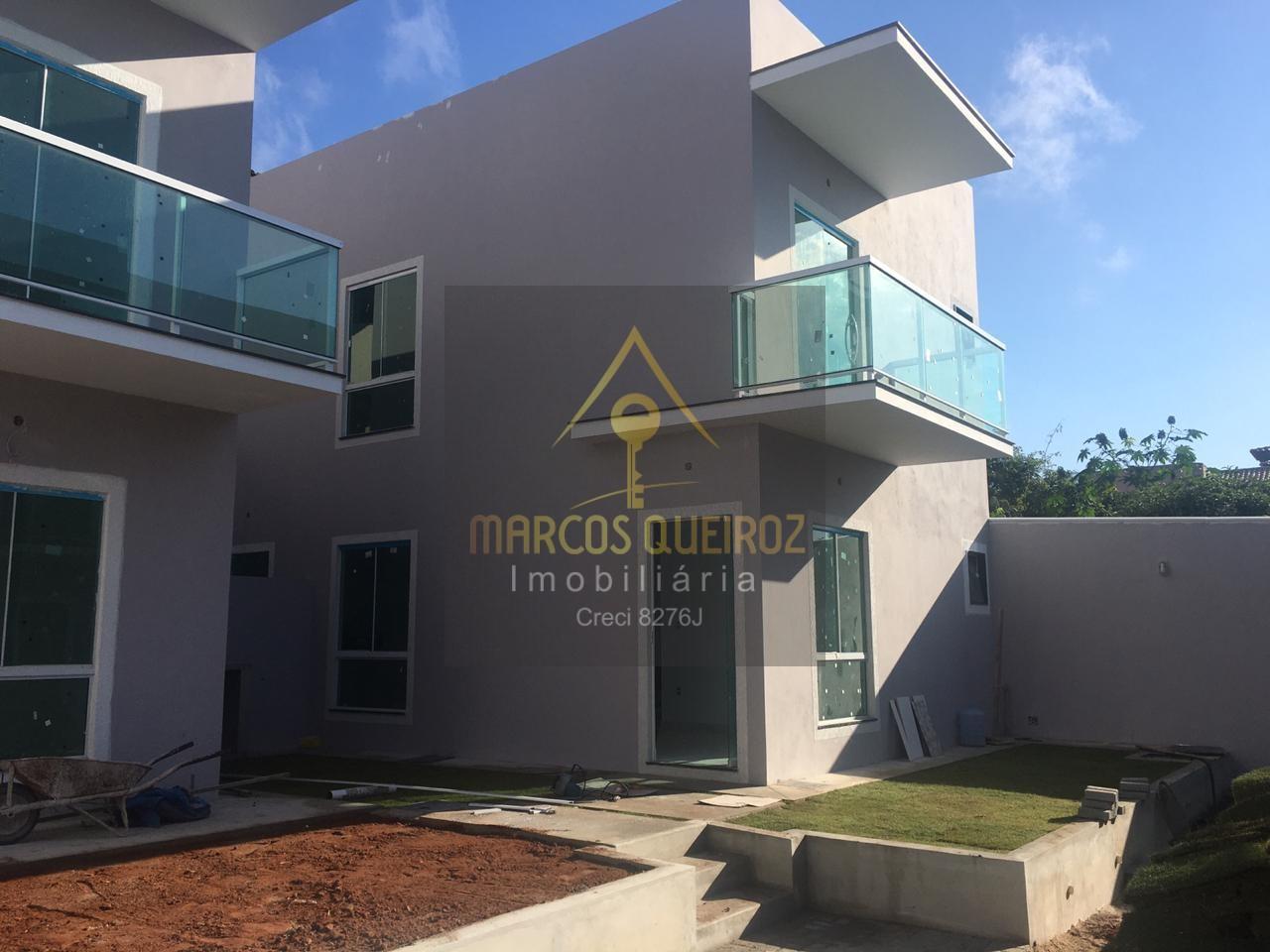 Cod: V478 Excelente casa em condominio com 03 quartos – Vila do Peró