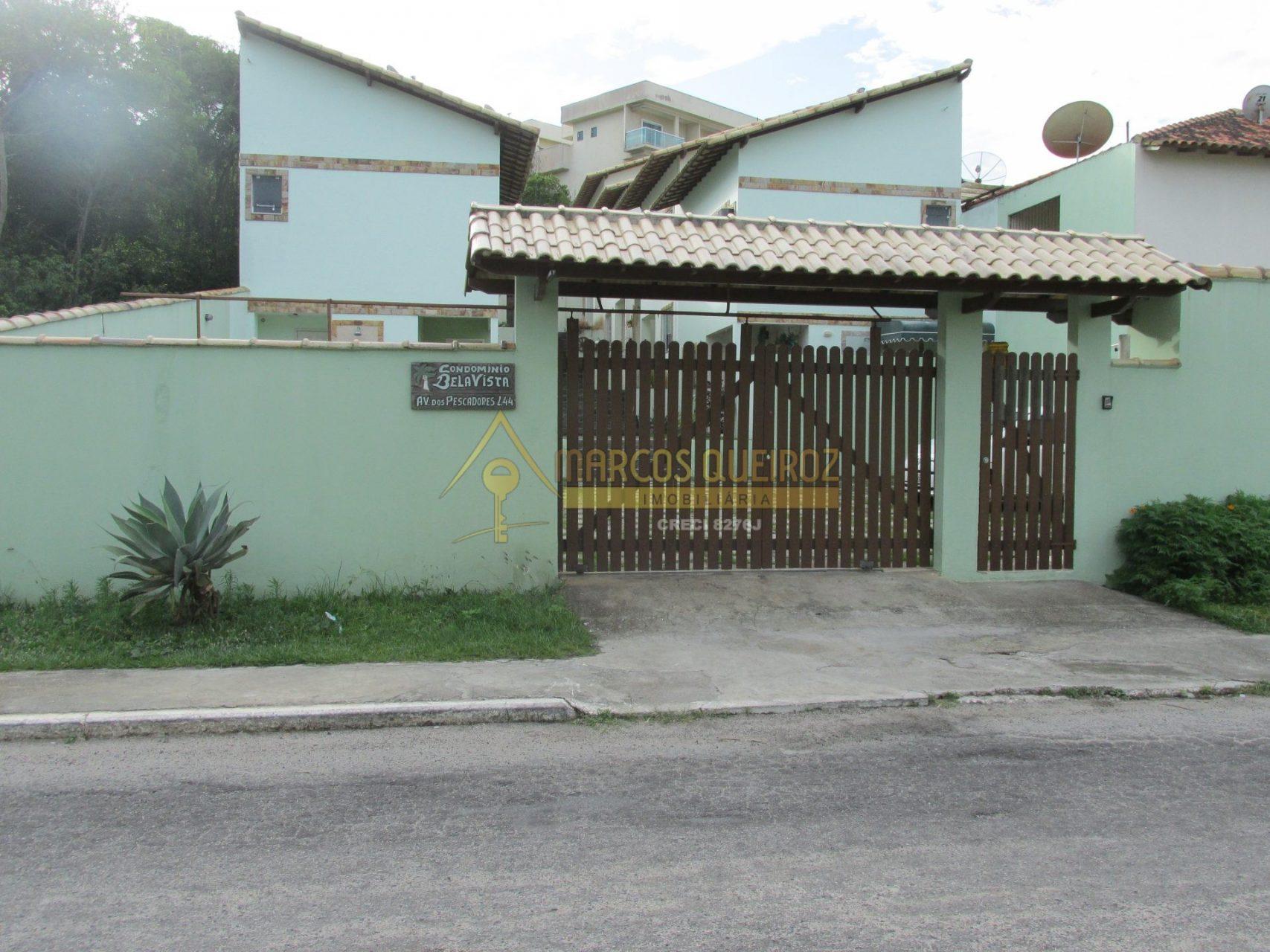 Cod: V567 Casa em condomínio com 02 quartos no bairro Peró