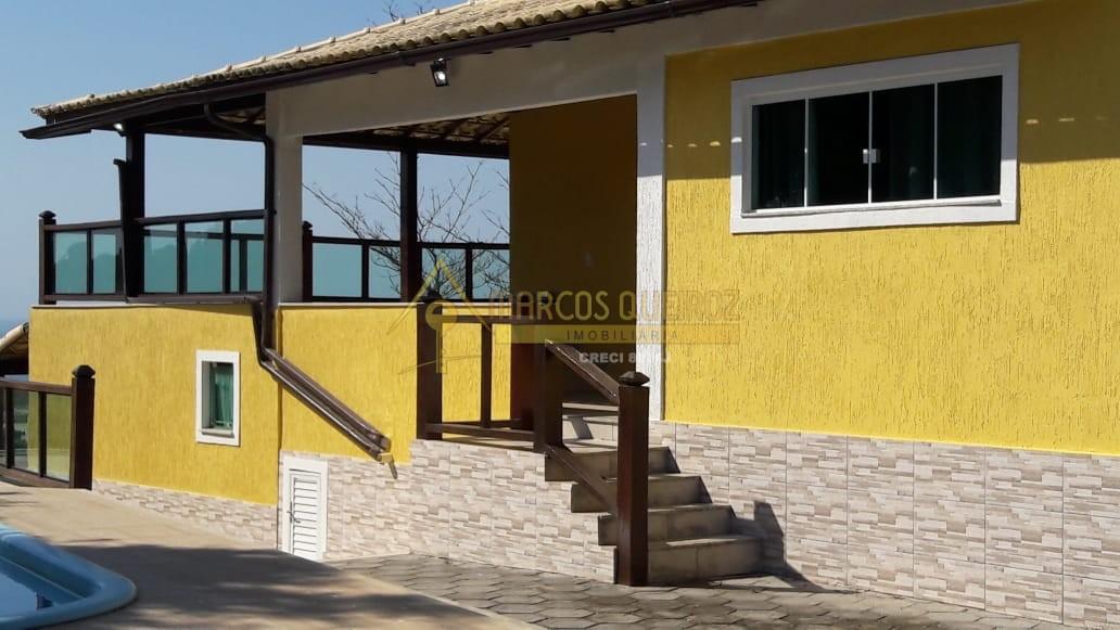 Cod: V596 Maravilhosa casa independente com 08 quartos e vista para o mar – Condomínio Bosque do Peró